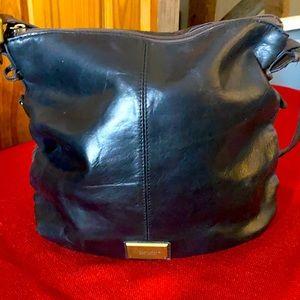 Tignanello black and brown purse